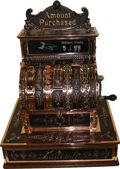 Cash Register. I worked at a variety store on Sunset Hill in Ballard (Seattle, Wa.) that had a cash register like this.