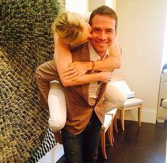 Les rumeurs d'un possible couple entre Kelly Rutherford et Matthew Settle de Gossip Girl se font insistantes | HollywoodPQ.com