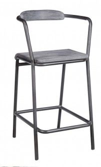 Monroe Barstool Stone Gray Want one of these? Contact us at 858-255-9050. www.shelleysassdesigns.com