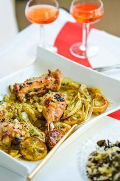 Roasted Chicken alla Limoncello Recipe | ChefDeHome.com