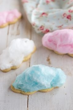 DIY Cotton Candy Cookies