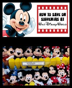 5 ways to save on Disney souvenirs!
