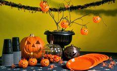 decoracao de mesa para halloween