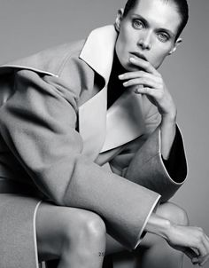 Malgosia Bela by Karim Sadli (The Bigger, The Better - The Gentlewoman #6 Fall 2012) 8