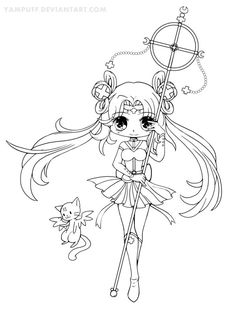 Sailor Irumei Lineart Cool Coloring PagesColoring
