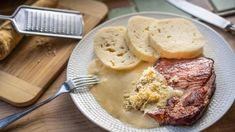 Slanou pikantní chuť dobrého uzeného dobře doplňujekřen, to ví asi každý. Právě proto se kuzenému často dělá jednoduchá křenová omáčka. Její přípravu zvládne izačátečník aúspěch je zaručen. Mashed Potatoes, Ethnic Recipes, Food, Whipped Potatoes, Smash Potatoes, Essen, Meals, Yemek, Eten