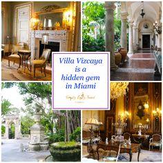 Villa Vizcaya is a Hidden Gem in Miami - Simply Enjoy Travel Cruise Miami, Italian Garden, Beautiful Villas, Florida Usa, Skyscrapers, Miami Beach, Places To See, Countryside, Travel Inspiration