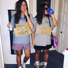 Walk of shame. TSM. Halloween Costumes ...  sc 1 st  Pinterest & 159 best Costumes and Themes images on Pinterest | Costume ideas ...