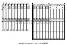 Wrought Iron Gates Stock Photos, Images, & Pictures | Shutterstock
