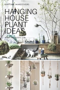 Need some fresh ideas for your house plants? Keep them out of the kids reach andoff the floor, try some of these hanging ideas. I've had a go and created my own coffee cup hanger, read on to find out how! #homedecor #houseplants #plants #interiors #design #DIY #design #crafts