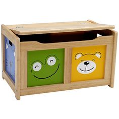 Buy John Crane Four Friends Toy Chest Online at johnlewis.com - T's new bedroom