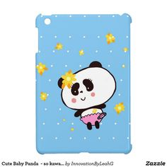 Cute Baby Panda  - so kawaii - Personalized Case For The iPad Mini  Please contact me if you are looking for a DJ https://www.djpeter.co.za, Photo booth https://www.photobooth.durban, LED Dancefloor http://www.leddancefloor.info, wedding DJ  https://www.kznwedding.dj/dj, Birthday Party DJ https://www.birthdays.durban or Videobooth  https://www.videobooth.durban for your Function, Wedding, Birthday Party, School Function, Corporate Event or  Product activation