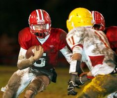 Palma secures Gabilan title with win over Hollister. Hollister's David Staton runs the ball for the Balers Friday during their game against Palma.