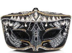 Judith Leiber Crystal Mask Minaudière