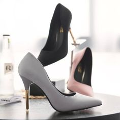 Buy The spring and autumn Korean temperament sexy shoes low matte Pink  Ladies high-heeled shoes Asakuchi with fine pointed shoes at Wish -  Shopping Made Fun eaed0f766e05