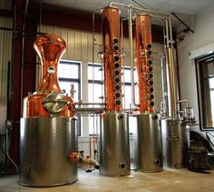 Visitors can go behind the scenes to see the how spirits are made at Great River Distilling Company. Photo: Courtesy Mississippi River Distilling Company