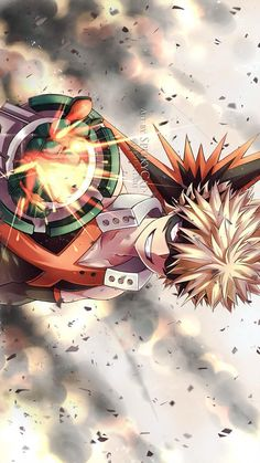 Katsuki Bakugo Explosion My hero Academia Boku No Hero Academia, My Hero Academia Manga, Hero Wallpaper, Image Manga, Fan Art, Animes Wallpapers, Hero Academia Characters, Images, Illustrations