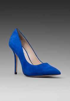 Boutique 9 Justine Heel in Blue Suede