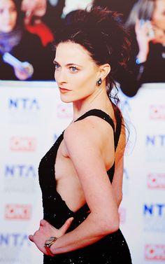 Lara Pulver. Give me your cheekbones.
