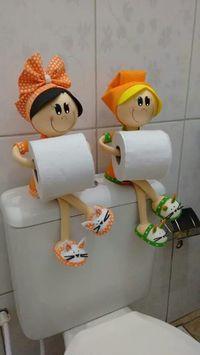 Creative & Easy DIY Toilet Paper Holders DIY Projects is part of pizza - Creative & Easy DIY Toilet Paper Holders Home Crafts, Diy And Crafts, Crafts For Kids, Arts And Crafts, Sewing Crafts, Sewing Projects, Craft Projects, Craft Tutorials, Upcycling Projects