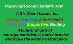 Girl Scouts Leader Day