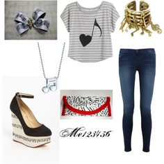 """""""music major"""" by me123456 on Polyvore"""