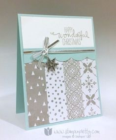 Stampin up stampin' up! stampinup stamping pretty mary fish wondrous wreath 4