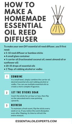 Freshen up any space with this simple, DIY Essential Oil Diffuser.