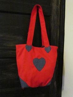 Bolsa de Corações feitas por mim #BarracodaMaria