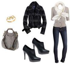 emma watson inspired style. #grey #EmmaWatson