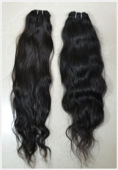 "12-24 inch Russian 100% TRUE VIRGIN Remy Human Hair Extensions Natural Wave #1B Weave (16"") by Empyrean Hair Extensions. $78.00. No Tangling or Shedding. 12-24 inch....100% TRUE VIRGIN HUMAN HAIR. Cannot be bought in the Beauty Supply Shop. 3.5-4.0 ounces per pack (depends on moisture content and humidity). Natural #1B Color. We carry 100% REAL human hair collected rom around the world. It is then shipped to our own factory where it is assembled and packaged. This is..."