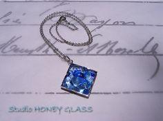 Studio HONEY GLASS のガラスの世界Fountainシリーズ Blue&Blue01ご高覧いただき、ありがとうございます。水の様々なか...|ハンドメイド、手作り、手仕事品の通販・販売・購入ならCreema。