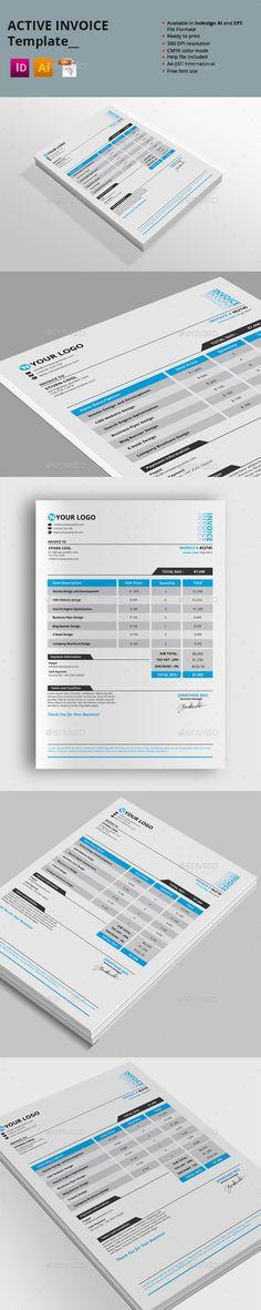 20 Creative Invoice \ Proposal Template Designs Proposal - print invoice