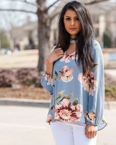 bc2b191ac6120e Adorable floral top at Lush Fashion Lounge Easter 2018, Trendy Dresses,  Girls Dresses,
