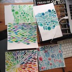 Watercolor love on Behance