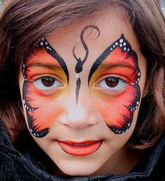MuyAmeno.com: Maquillaje Infantil y Caritas Pintadas, Mariposas