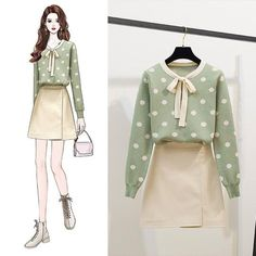 Match – Page 16 – Orchidmet Kpop Fashion Outfits, Girls Fashion Clothes, Cute Fashion, Girl Fashion, Fashion Drawing Dresses, Fashion Illustration Dresses, Fashion Dresses, Dress Design Sketches, Fashion Design Sketches