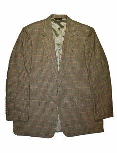 #Vintage #BrooksBrothers Sport Coat Blazer Suit Jacket #Menswear Mens Size 46L #dapper #sartorial #preppy