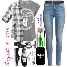 5SOS Concert Outfit Idea #1 for August 5, 2015/Atlanta, Georgia