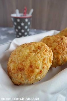 Meine Torteria: Käsebrötchen zum Frühstück
