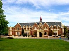 The George Forbes Memorial Library at Lincoln University, New Zealand