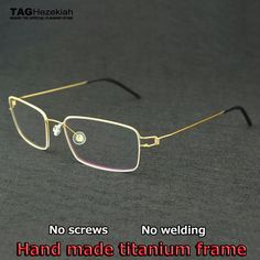 ebafdb6eb4 Buy Brand Goggles Made in Denmark glasses frame men women myopia computer  glasses Creative designer without screws eyeglass frames
