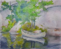 """""""Tethered"""" Watercolor"""