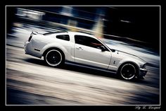 Shooting Ford Mustang Shelby
