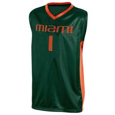 92151af8187 Miami Hurricanes Boys' Basketball Jersey XS, Multicolored