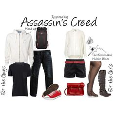 Assassin's Creed, created by ladysnip3r on Polyvore
