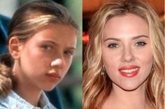 Child Celebs Who Grew Up and Turned Out to Be Good Looking ~ NOT TO MENTION HER FAB FIGURE, SCARLETT JOHANSON ~
