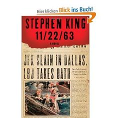 11/22/63: -   Stephen King explores the various time travel wrapped in a love story. Would the world be better off if JFK's assassination were prevented?