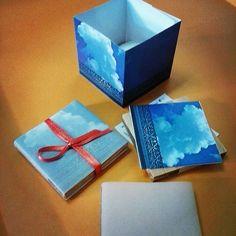 """12 Likes, 4 Comments - taller el desvelo (@tallereldesvelo) on Instagram: """"Lamparita de papel. Un pedacito de cielo en la Asuncion, margarita. Foto: @alejandrososab. 2008 . .…"""""""