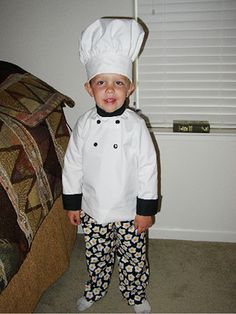 If my kid would wear hats, I would totally make this for him for Halloween. It's so cute!
